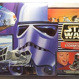 Galoob - Star Wars (スターウォーズ) MicroMachines Stormtrooper Death Star Transforming Action Set(並行輸入)