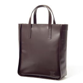 "HEAD PORTER - ""VIANA"" TOTE BAG BROWN"