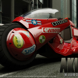 大友克洋 - Akira - The Legend Comes Alive Poster 2, , fly2thesky - CGSociety