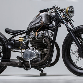 "Steel Bent Customs - 1971 Honda CB450 ""Seven 1"""