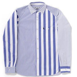 bal - BLOCK STRIPE SHIRT