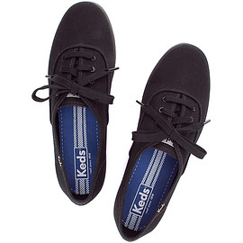 keds - CHAMPION OXFORD CVO Black/Black