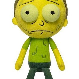 Rick and Morty - Galactic Plushies Toxic Morty