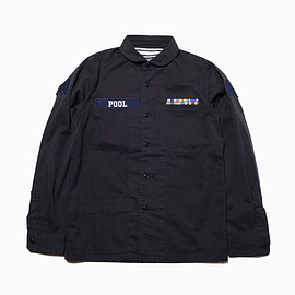 "the POOL aoyama - ""POOL"" MILITARY SHIRTS JACKET"