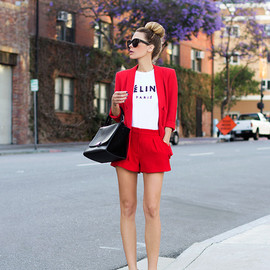 CELINE - Red style..