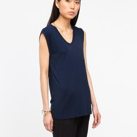 T by Alexander Wang - Classic Muscle Tee in Ink