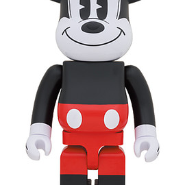 MEDICOM TOY - BE@RBRICK MICKEY MOUSE (R&W 2020 Ver.) 1000%