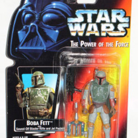 "STAR WARS Power of the Force Red Card 3 3/4"" Han Solo in Hoth Gear Action Figure"