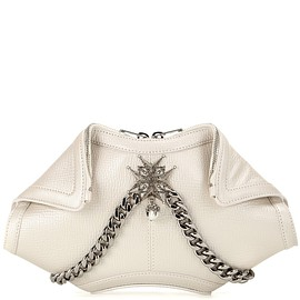 Alexander McQueen - SS2016 De Manta Small embellished leather clutch