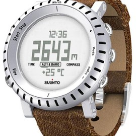 SUUNTO(スント)  - Core Brown Leather