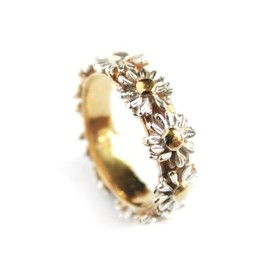 alex monroe - Daisy Wreath Ring