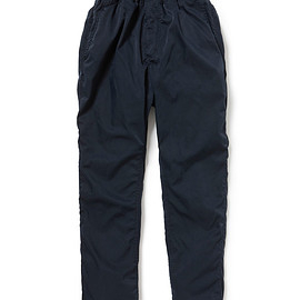 nonnative - MANAGER EASY PANTS RELAX FIT POLY TWILL STRETCH OVERDYED