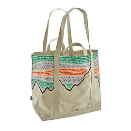 patagonia - All Day Tote, Solar Rays '73: Bleached Stone (SRBS)