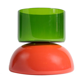 Ettore Sottsass - Puzzle red and green