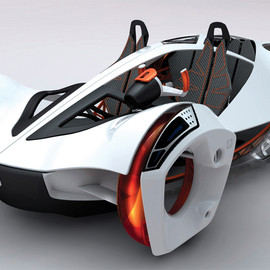 Honda - Alternative Fueled Vehicles 2010 Honda Water Concept Design
