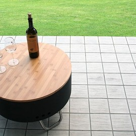 Fire Pit & Table