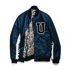 uniform experiment - NYLON TWILL STADIUM BLOUSON