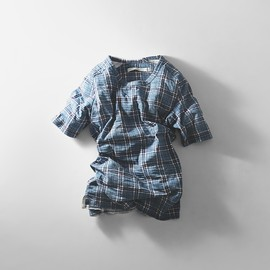 Curly - SS RIPPLE CHECK Tee