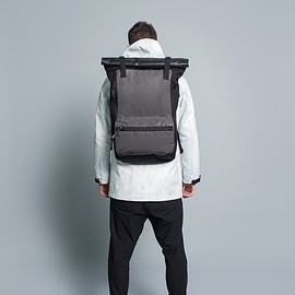 ノクターナルワークショップ - Rolltop Backpack // Black | Nocturnal Workshop