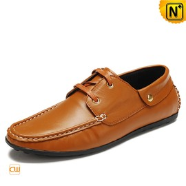 cwmalls - Mens Casual Leather Driving Loafers Shoes CW740080