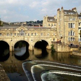 Bath, United Kingdom - Pulladian Pulteney Bridge