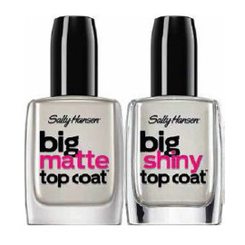 Sally Hansen - Big Top Coats|Shiny/Matte