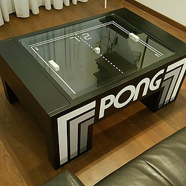 The Atari PONG Coffee Table
