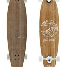 GoldCoast Skateboards The Shaka Tack Longboard Complete  Small