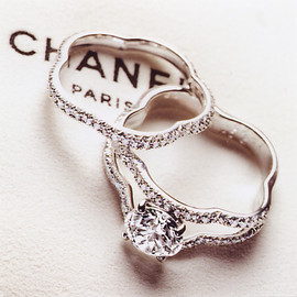 "CHANEL - Chanel ""Camellia Collection Bridal"" Ring"