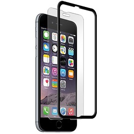 BodyGuardz - ScreenGuardz Pure® with The Crown™ Premium Glass Screen Protector for Apple iPhone 6