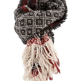 FALIERO SARTI - Knitted patterned scarf