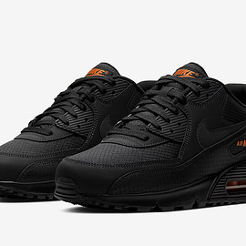 NIKE - Air Max 90 - Black/Orange