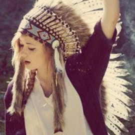 hippie headdress