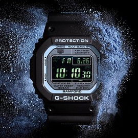 Bamford Watch Department, CASIO - G-Shock (GW-M5610) - Black/Aqua