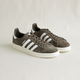 adidas|MEN - Campus #branch×white