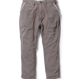 nonnative - DWELLER ANKLE CUT PANTS - C/A/P NEP TWILL
