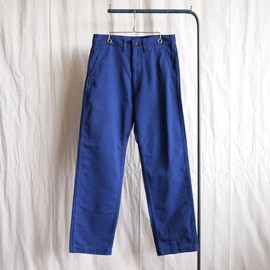 COMME des GARCONS HOMME - Cotton Uneven Chino Cloth Pants #dark blue