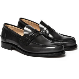 CHURCH'S - Dark Grey Tunbridge Penny Loafers