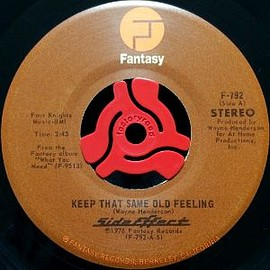 Side Effect - Keep That Same Old Feeling (7inch)