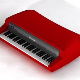 Rhodes  - Mark 7 Red Gloss
