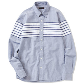 CASH CA - CHEST BORDER L/S SHIRT