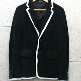 COMME des GARCONS HOMME PLUS - 13ss ベロアパイピングジャケット