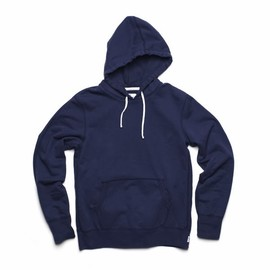 REIGNING CHAMP - REIGNING CHAMP PULLOVER HOODIE - NAVY