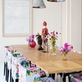 Kartell - Mademoiselle | flower printed chairs
