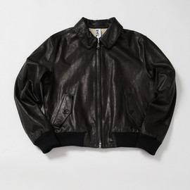 MHL. - ROUGH LEATHER JACKET
