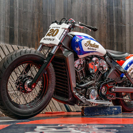 Indian - Scout  / The Wall of Death