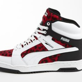 PUMA - PUMA SLIPSTREAM ANIMAL WHITE/AUTO RED/BLACK