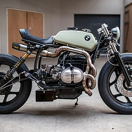 "Ironwood Custom Motorcycles - ""The Mutant"" 1985 BMW R80"