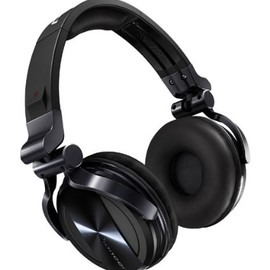 Pioneer - Pioneer HDJ-1500-K dynamic headphone (クロームブラック)