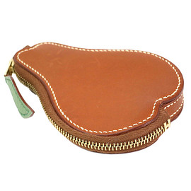HERMES - Barenia Leather Pear Coin Case